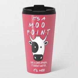 It's Moo! - Friends TV Show Travel Mug