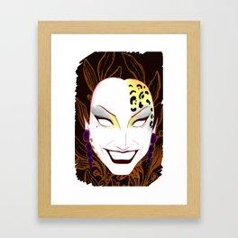 The panther, Bianca  Framed Art Print