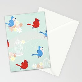 Spring Freedom Stationery Cards