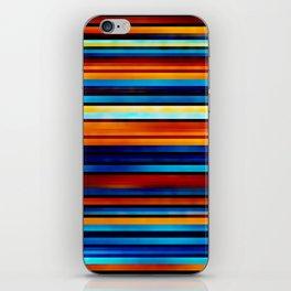 Foggy Stripes iPhone Skin