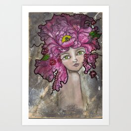 Peony2 Art Print