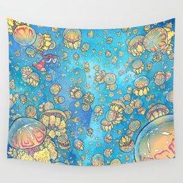 Jellyfish Lake Wall Tapestry