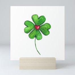 Quatrefoil Love Mini Art Print