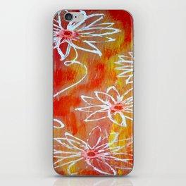 Luminescent Garden iPhone Skin