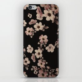 FLORAL PINK CHERRY BLOSSOM iPhone Skin