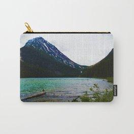 Geraldine Peak as seen from Geraldine Lake in Jasper National Park, Canada Carry-All Pouch