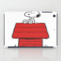 snoopy iPad Cases featuring Snoopy by Simple Touch Apparel