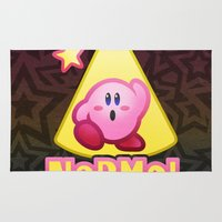 kirby Area & Throw Rugs featuring Kirby Normal by likelikes