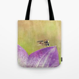 Dance of the Hoverfly Tote Bag