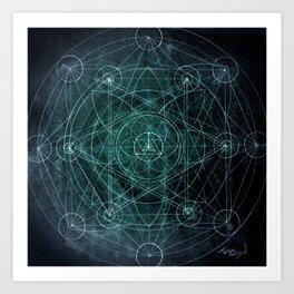 Merkabah Orbit Art Print