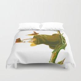 House Wren Bird Duvet Cover