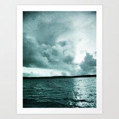 Clair de lune Art Print