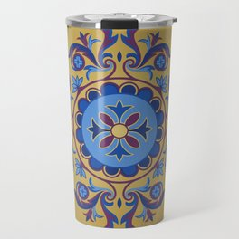 Ottoman Floral Art Travel Mug