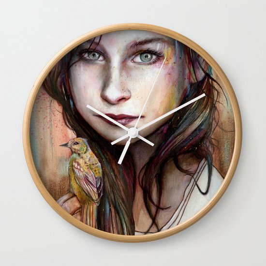Circe Wall Clock