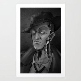 Nick Valentine Art Print