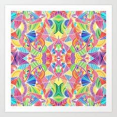 Kaleidoscopic Zen Art Print