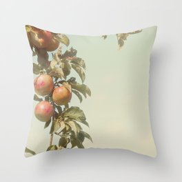 The Orchard Skies Throw Pillow