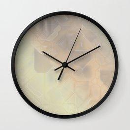 future fantasy dunes Wall Clock