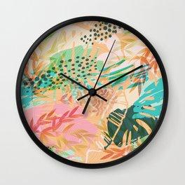 Tropical Mixup Wall Clock