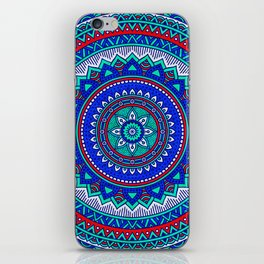 Hippie mandala 28 iPhone Skin