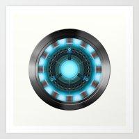 ironman Art Prints featuring IRONMAN by Yuliya L