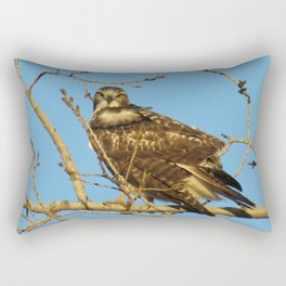 Redtail Hawk Rectangular Pillow
