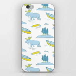 BWCA lake life iPhone Skin
