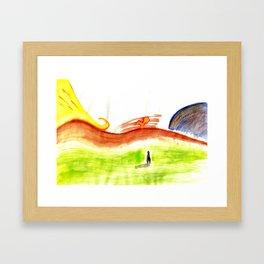 Landscape#1 Framed Art Print