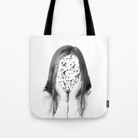 dreamer Tote Bags featuring Dreamer by infloence