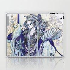 Madame Blue Laptop & iPad Skin
