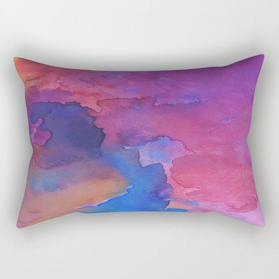 Close Your Eyes Rectangular Pillow