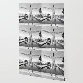 Freedom Man Nude Wallpaper