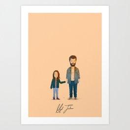 Hugh Jackman - Logan Art Print