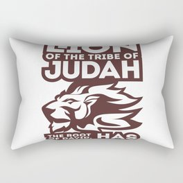 The lion of the tribe Rectangular Pillow
