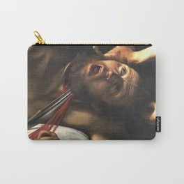 Judith beheading Holofernes, Caravaggio, baroque painting, italian painter Carry-All Pouch
