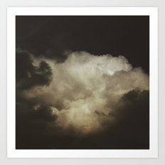 Crown of Clouds Art Print