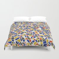 geo Duvet Covers featuring geo by jennifer judd-mcgee
