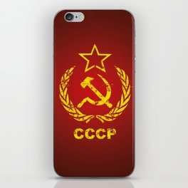 CCCP USSR Communist Used iPhone Skin