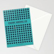 Enemy Among Us II Stationery Cards