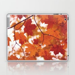 Fluttering from the Autumn tree Laptop & iPad Skin