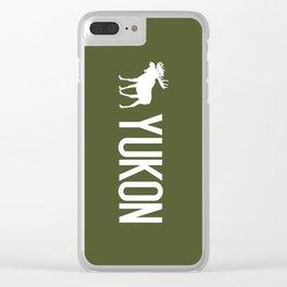 Yukon Moose Clear iPhone Case