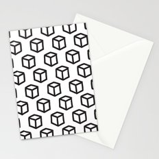Geometric minimalist pattern Stationery Cards