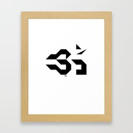 OM - Sweet Vibrations Framed Art Print