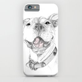 A Smile is Worth a Thousand Words :: A Pit Bull Smile iPhone Case