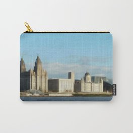 Liverpool Waterfront (Digital Art) Carry-All Pouch