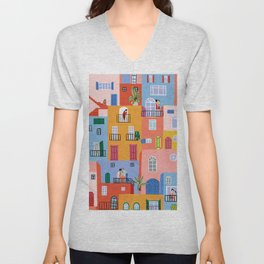we're all in this together Unisex V-Neck