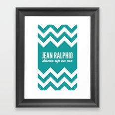 Jean Ralphio - Parks and Recreation Framed Art Print