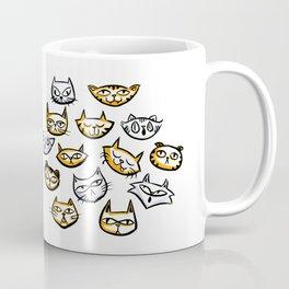 Cat Clowder Coffee Mug
