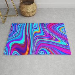 Marble Abstract Art Pattern Rug
