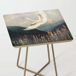 Elegant Flight Side Table